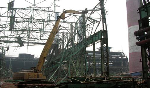 大型工业厂房拆除