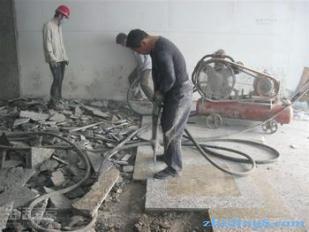 房屋拆除现场临设中的生活措施