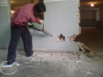 房屋人工拆除方法