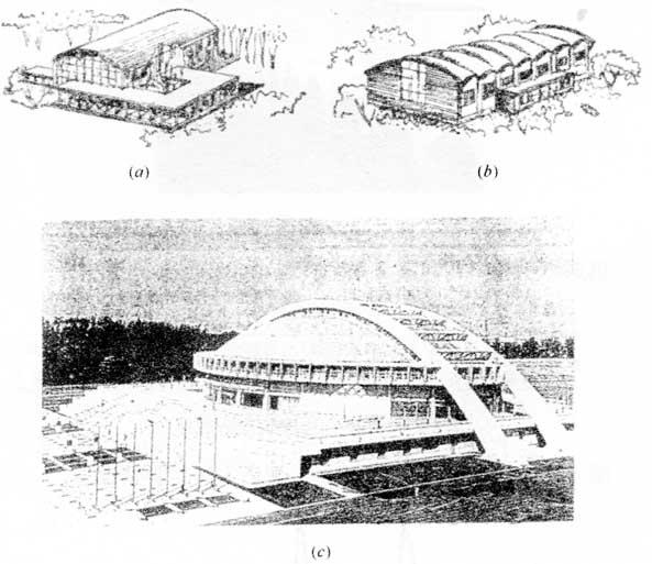 拱形结构建筑的拆除施工