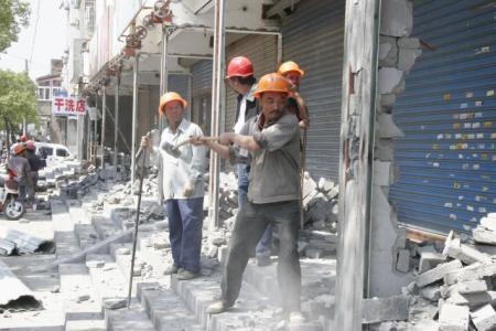 工程坍塌事故的拆除施工