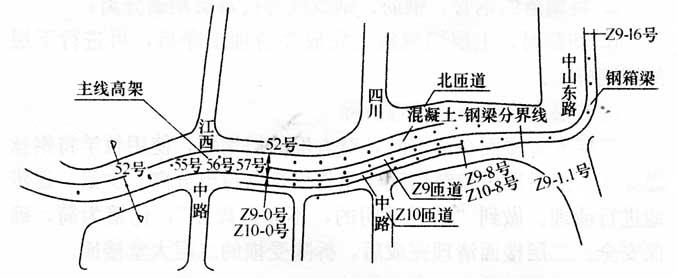 [实例案例]闹市区不封道条件下已有高架桥的拆除技术