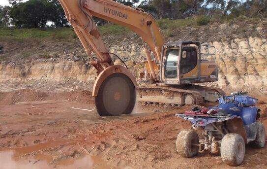 建筑工程拆除施工机械切割机