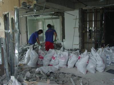 拆除施工时的安全要求