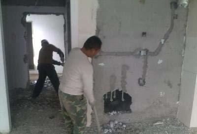 建筑拆除工程施工防火管理