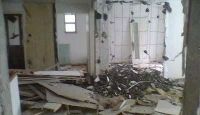普通房屋建筑工程人工拆除施工