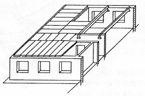 图2-19空心楼板布置