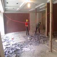 房屋拆除施工