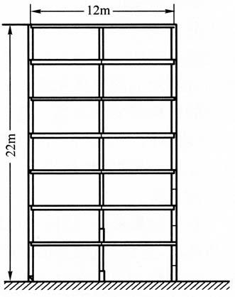 图3-20七层公寓楼房模型
