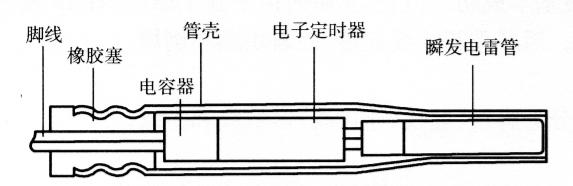 图5-3数码电子雷管结构示意图