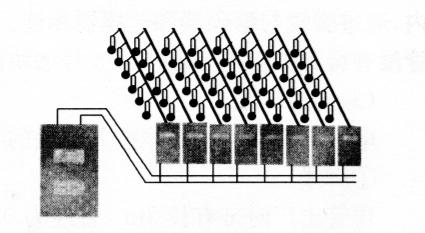 图5-4PBS数码电子雷管起爆网路示意图
