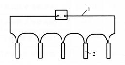 图5-5串联电爆网路