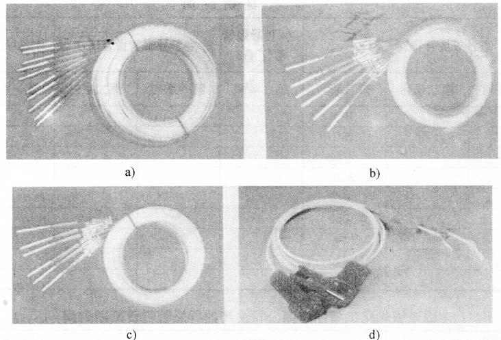图5-10塑料导爆管雷管外形图