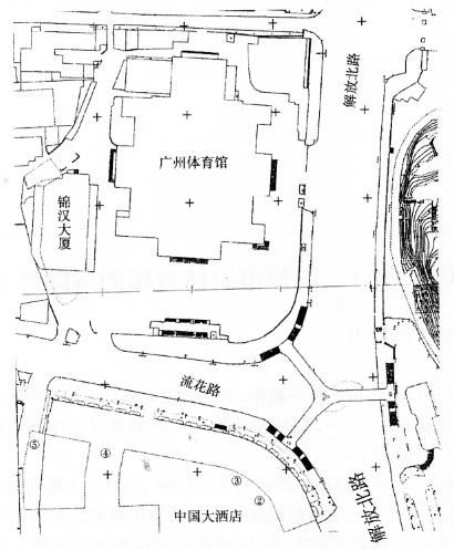 爆破拆除案例广州市旧体育馆的拆除爆破