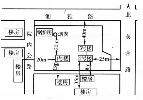 湖南湘雅医学院三栋砖混结构楼房拆除爆破及网路设计