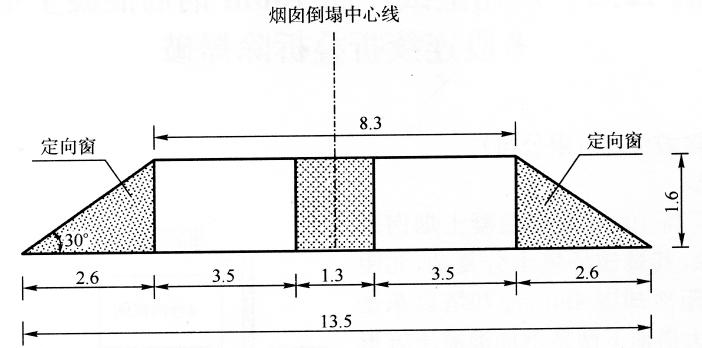 图12-10+30.2m缺口形状、尺寸示意图(尺寸单位:m)