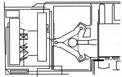 图12-24爆破倒塌方向图