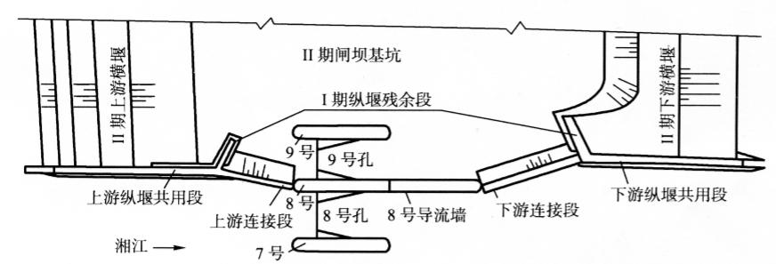 实例湖南省湘江大源渡电站河中纵堰拆除爆破