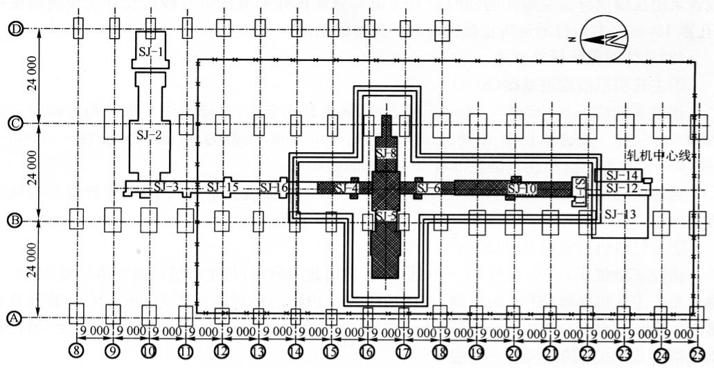 实例马鞍山市马钢第一钢轧总厂中板生产线设备基础拆除爆破