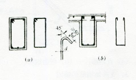 图2-3箍筋的锚固要求