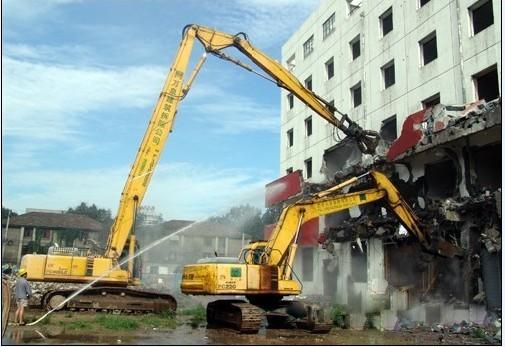 机械拆除的施工顺序