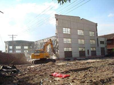 爆破拆除和人工、机械拆除的相互配合