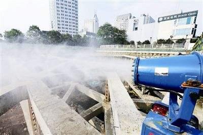 拆除工程扬尘污染防治