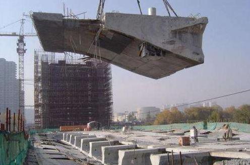 四川乐山桥梁拆除