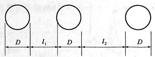 图1-7柱的土侧压力计算宽度