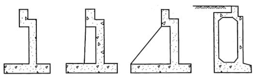图2-36薄壁轻型桥台