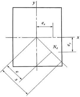 图2-64受压构件编心距