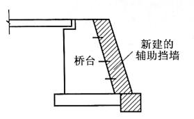 图2-90增厚台身加固