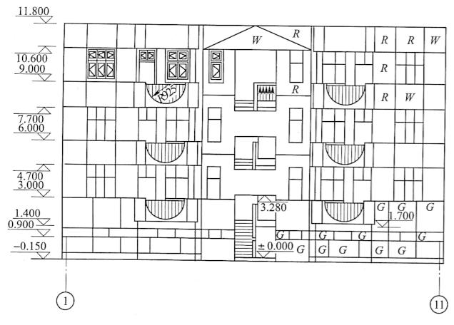 图3-25立面图