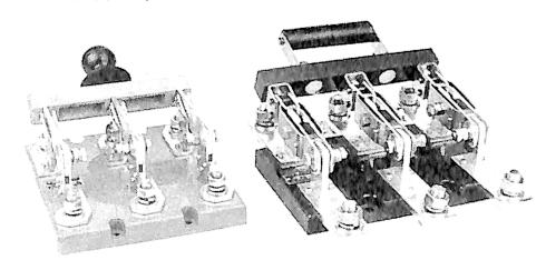 图3-41开启式刀开关外形图
