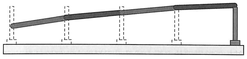 图2-3连续梁桥失稳示意