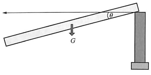 图2-11简支梁桥塌落过程动力学模型