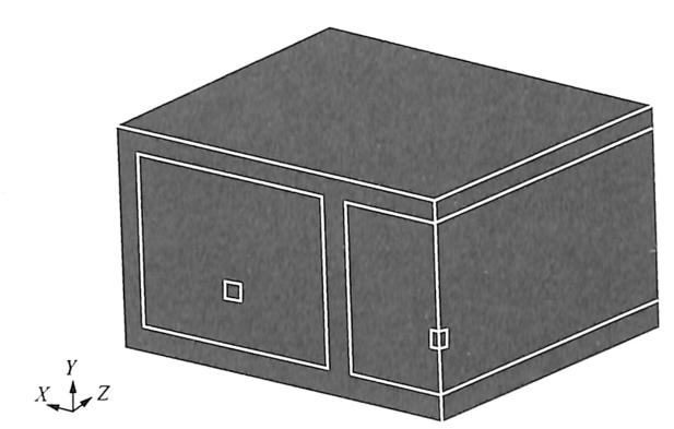 图2-15计算模型