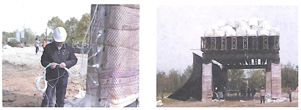 图3-17墩柱防护