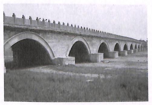 图1-9卢沟桥