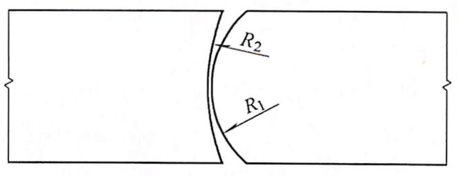 图7-36弧形铰
