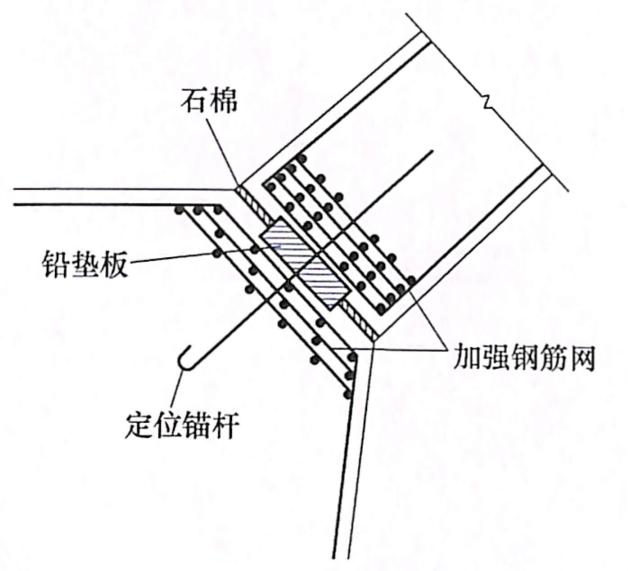 图7-37铅垫铰构造