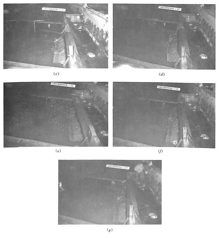 图3.14堰块倾倒后的形态(二)