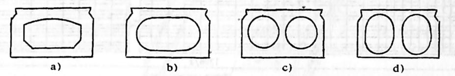 图1-1-18空心板的截面型式