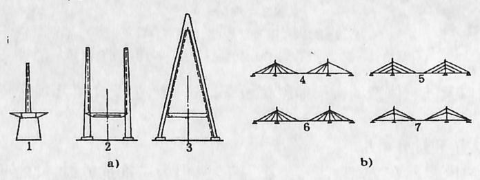 图1-1-37斜拉钢索的布置