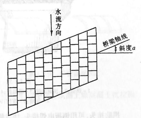 图1-1-50整体式斜石拱圈构造