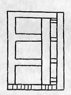 图2-1-105拱桥轻型桥台型式二——空腹式桥台