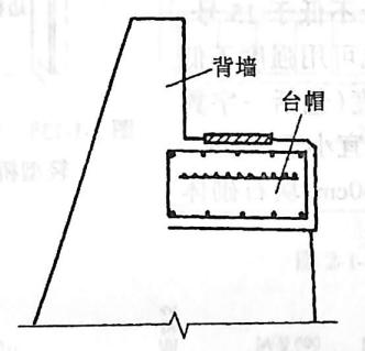 image.png图2-1-135重力式桥台的台帽和背墙