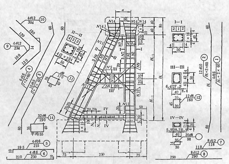 image.png图2-1-151构架式台钢筋构造