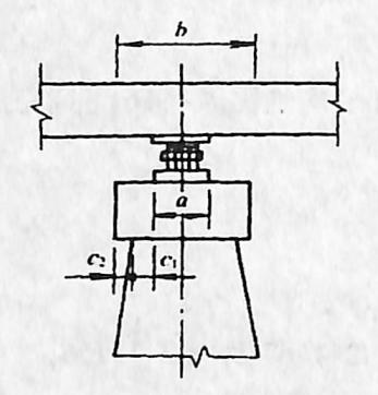 图2-1-164单排支座墩帽尺寸