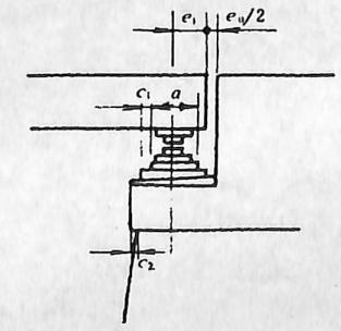 图2-1-169台帽顺桥向尺寸